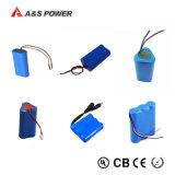 18650 Pak van de Batterij van het Lithium van Li van de batterij het Ionen voor de Hulpmiddelen van de Macht