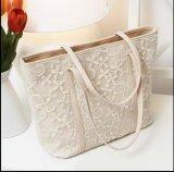 Saco de Tote de seda do plutônio da forma e da bolsa do saco de ombro das mulheres do algodão