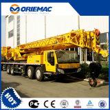 건축기계 70 톤 망원경 붐 트럭 기중기 Xct70e