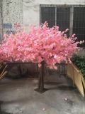 Künstliche Silk rosafarbene Großhandelsinnenkirsche blüht Blüten-Baum