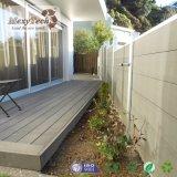 Подгонянная загородка сада WPC зеленого цвета конструкции напольная составная деревянная