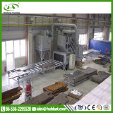 Tipo macchina del rullo del piatto d'acciaio della strumentazione di pulizia di granigliatura con lo SGS