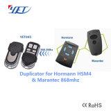 Telecomando Yet045 di vendita 2/4 del cancello caldo dei tasti DC12V 433.92MHz