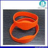 13.56MHz Wristband del silicone M1 RFID per controllo di accesso