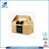 El logo impreso personalizado regalo reciclado Caja de papel café