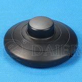 Negro en pie de la luz de la línea on-off Interruptor basculante