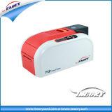 Única impressora do cartão do PVC T12 do lado para a impressão do código de Qr do código de barras