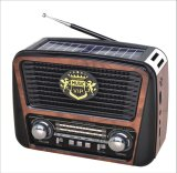 USB/TF/Rechargeable/Bluetooth/Solar 음악 플레이어와 가진 FM/Am/Sw 3 악대 휴대용 라디오