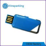 Plastica personalizzata di memoria Flash del USB