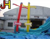 Kundenspezifischer aufblasbarer Himmel-Tänzer, aufblasbarer Luft-Tänzer mit Pfeil für Verkauf