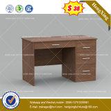 전통적인 진한 색 구석 사무실 테이블 PC 책상 (HX-8NE039)