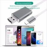 Câble usb de disque du véhicule U d'OTG pour l'iPhone, Samsung, androïde