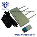 De mobiele Stoorzender van de Telefoon - 10m aan 30m Beschermende Straal - met Ver Controlemechanisme