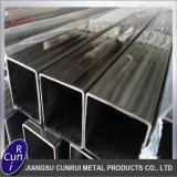 Tubo rettangolare del tubo del quadrato dell'acciaio inossidabile del SUS 304 di ASTM A554