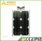 65W太陽電池パネルが付いている太陽動力を与えられた屋外の軽い太陽街灯5W-120W
