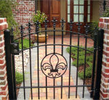 Un design classique porte en fer forgé Gates