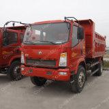 Sinotruk砂の交通機関のための軽いダンプ8トンの5m3のかダンプトラック