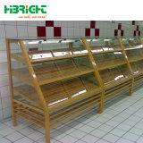 Muebles de madera Tienda Panadería Racks de pantalla