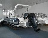 Blu marino gonfiabile della barca del guscio rigido di Liya 8.3m da vendere