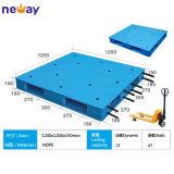Material de HDPE azul elevada quantidade de paletes de plástico