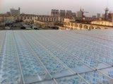 Agua del panel del sistema del panel del policarbonato U de la hoja de Multiwall impermeabilizada cubriendo el tragaluz de la hoja