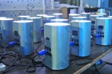 8개의 LEDs 무선 LED 세척 실린더 빛