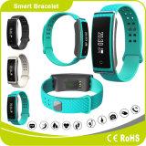 Bluetooth Smart de remise en forme de la santé Watch Bracelet en silicone avec télécommande