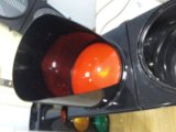 높은 빛난 LED 번쩍이는 신호등/교통 신호