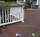 Suelo al aire libre Anti-ULTRAVIOLETA de madera de la teca popular WPC de la alta calidad