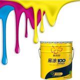 Alta proporción de recubrimiento resistente a la corrección de la pared interior Paint