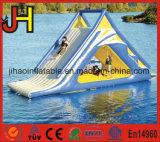 高品質の膨脹可能なスライド、水公園のための浮遊スライド