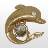 Животная форма обувает пряжку с Rhinestone, украшениями одежды металла