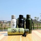304 Edelstahl-doppel-wandige Sport-Wasser-Flasche (SH-ST26)