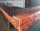 Vente chaude Noir/peint/Tuyau en acier rectangulaire en acier galvanisé