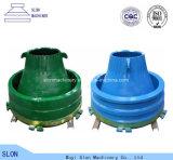 Nordberg Metso G108 Steinzerkleinerungsmaschine-Filterglocke-Zwischenlage, Umhang und konkaves