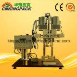 Alta Semiautomáticos Superior de garrafa pet máquina de nivelamento