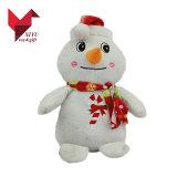 La Chine Bonhomme de neige en peluche personnalisée en usine de jouets de Noël