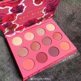 Colorpop Karrueche Fem Rosa ella 12 colores brillan Eyeshadow Palette