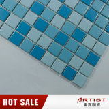 Blaues keramisches Mosaik für Swimmingpool