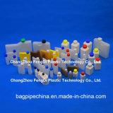 La biochimie des bouteilles de réactifs de l'analyseur