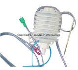 Sistema cerrado del kit del evacuador del drenaje de la herida del silicón