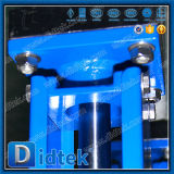 Klep van de Poort van het Mes van het Type van Handvat van Didtek de Lichtgewicht Pneumatische
