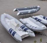 Barche aperte della nervatura della barca gonfiabile del pavimento della vetroresina 7person di Liya 4.3m