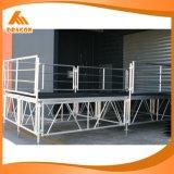 Estágio ajustável de alumínio portátil estágio portátil usado para a venda