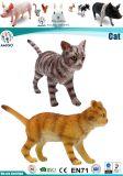 Giocattolo di plastica del gatto