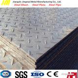 Plaque en acier laminé à chaud à damiers ASTM A36 Fiche de présentation de Pattern