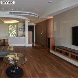 Couleur en bois de la meilleure qualité comme l'étage desserré réel de PVC de configuration