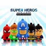 Lecteur Flash USB 2.0 super-héros Batman Superman Spider Man Pendrive
