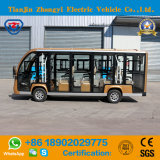 Автомобиль челнока батареи 14 мест Enclosed для туриста с сертификатом Ce
