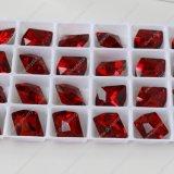 De in het groot Kleurrijke Zilveren Parels van het Kristal Quliaty van het Plateren Hoogste K9 Duidelijke voor het Kledingstuk van Juwelen